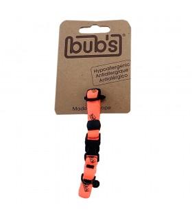 Collar Gato Bub's naranja-...