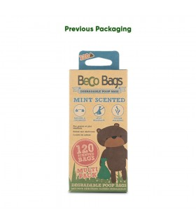 BecoBags Mint 4 rollos x 15...