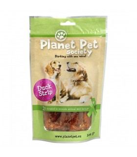 Planet Pet Snack tiras pato...